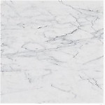 Statuario Venato polished marble tile 12x12