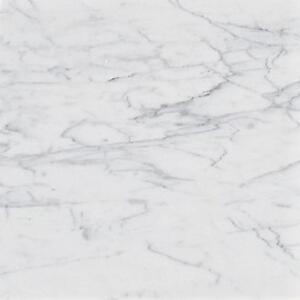 Statuario Marble Tile Polished 12x24
