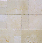 Crema Marfil French Pattern Opus Romano Chiseled Edge