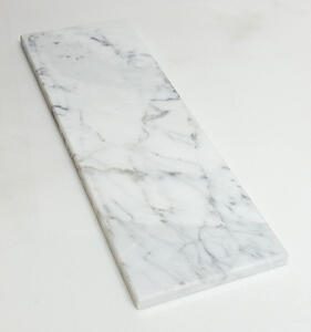 Calacatta Polished Marble Tile 4 x 12 Subway Rectangle