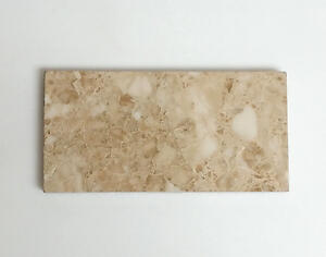 Cappuccino Polished Marble Tile 3 x 6 Subway Rectangle