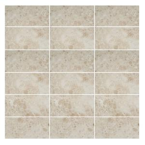 Cappuccino Light 2x4 Marble tile Polished