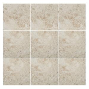 Cappuccino Light 4x4 Marble tile Polished