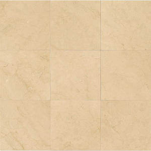 Crema Marfil 18x18 Polished Select marble Tile