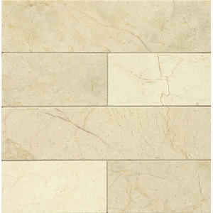 Crema Marfil 3x12 Honed Marble Tile
