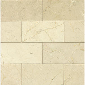 Crema Marfil 3x12 Polished Marble Tile