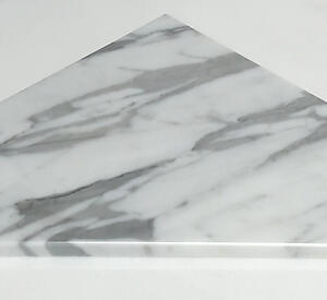 Statuario Polished Marble Bath Shower Corner Shelf