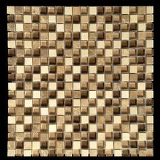 Sand Colors Marble & Glass Mosaic