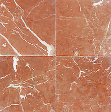 Rojo Alicante 6x6 Polished Marble Tile